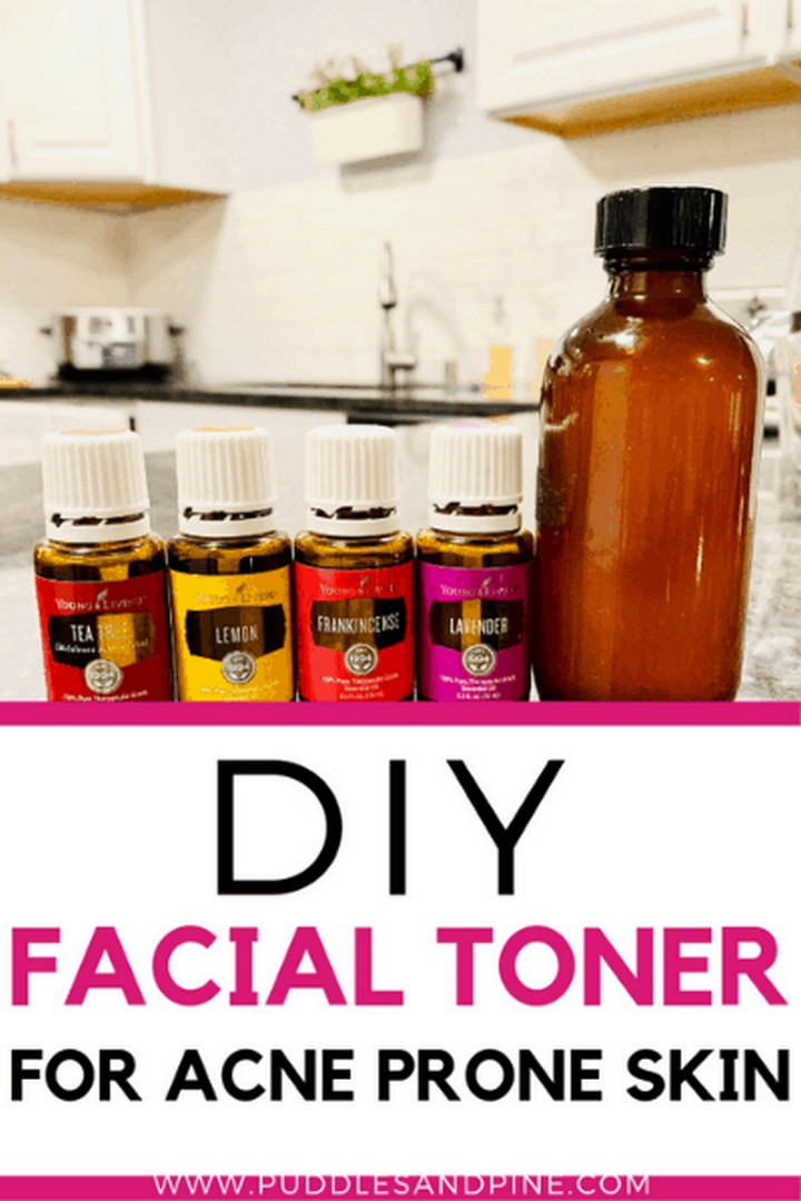 DIY Toner For Oily And Acne Prone Skin 1