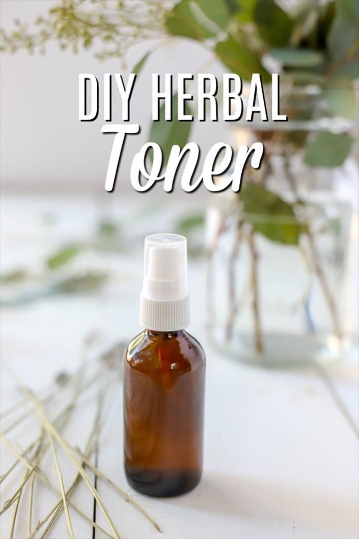 DIY Toner Simple Herbal Recipe