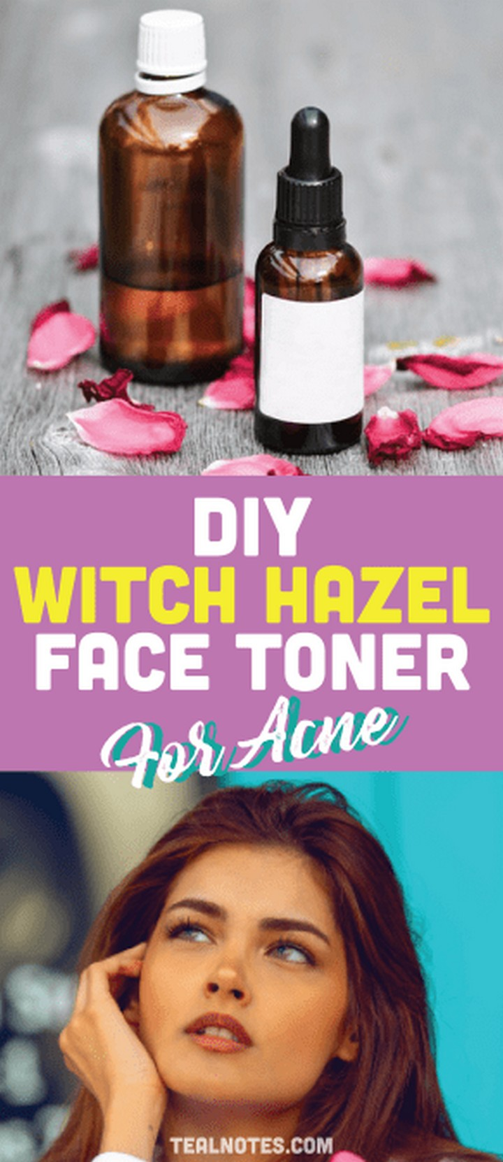 DIY Toner With Essential Oils Thayers Witch Hazel Face Toner
