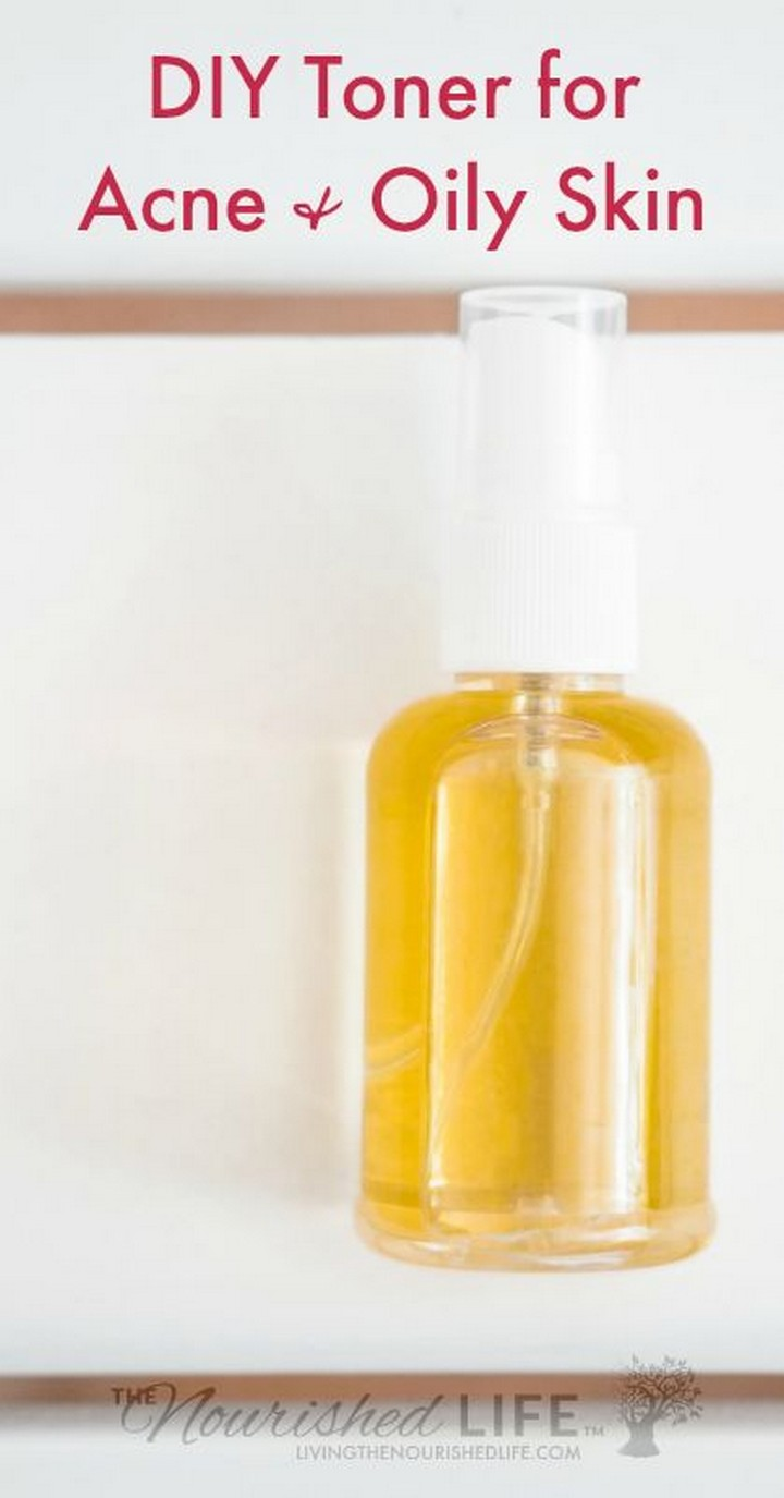 DIY Toner for Acne and Oily Skin Just 2 Ingredients