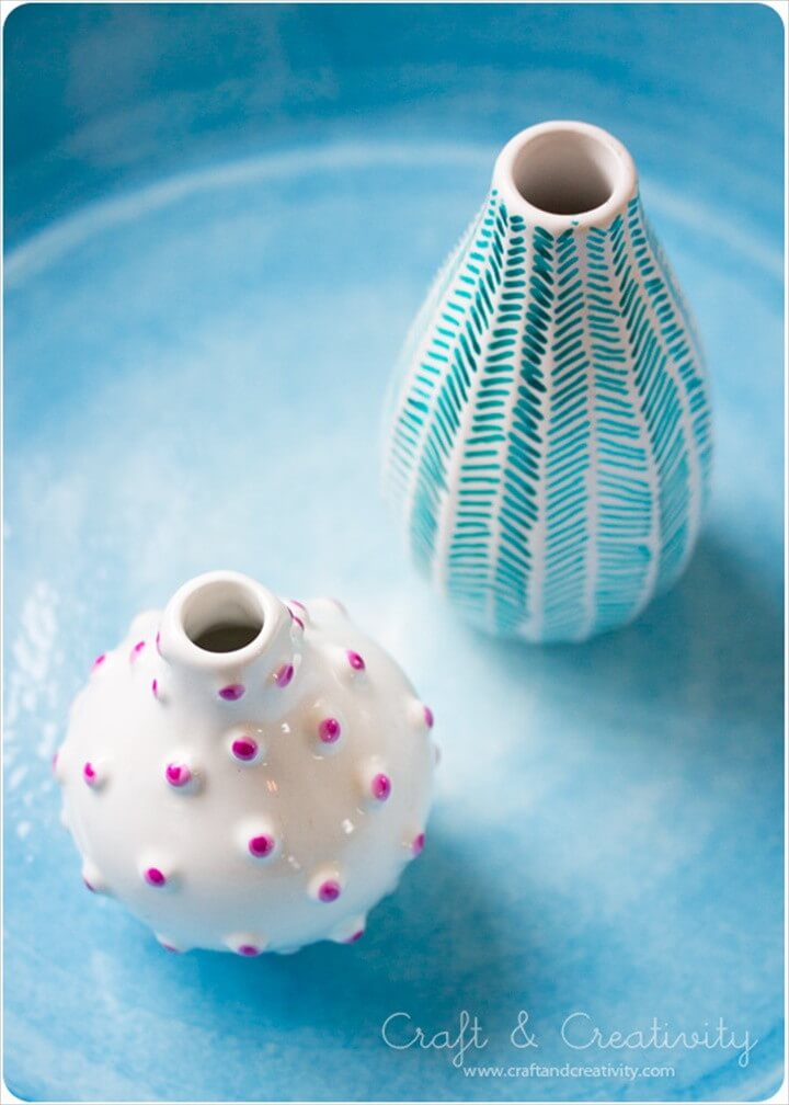 Decorate Old Vases