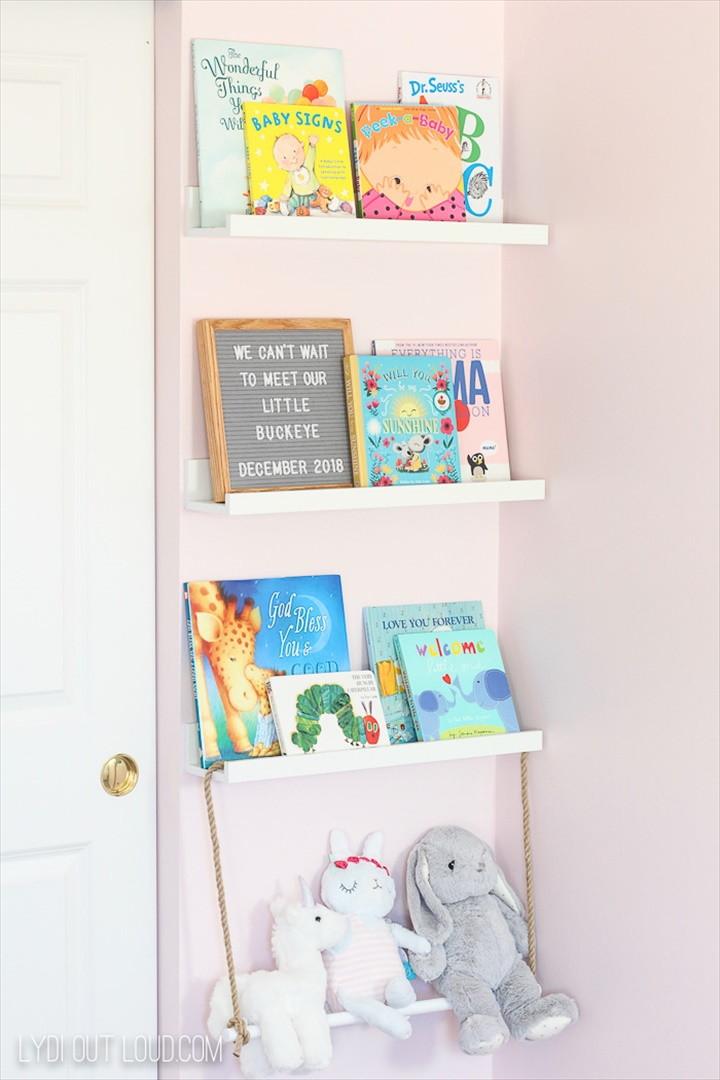 Decorative DIY Nursery Storage Ideas – One Room Challenge Week 3