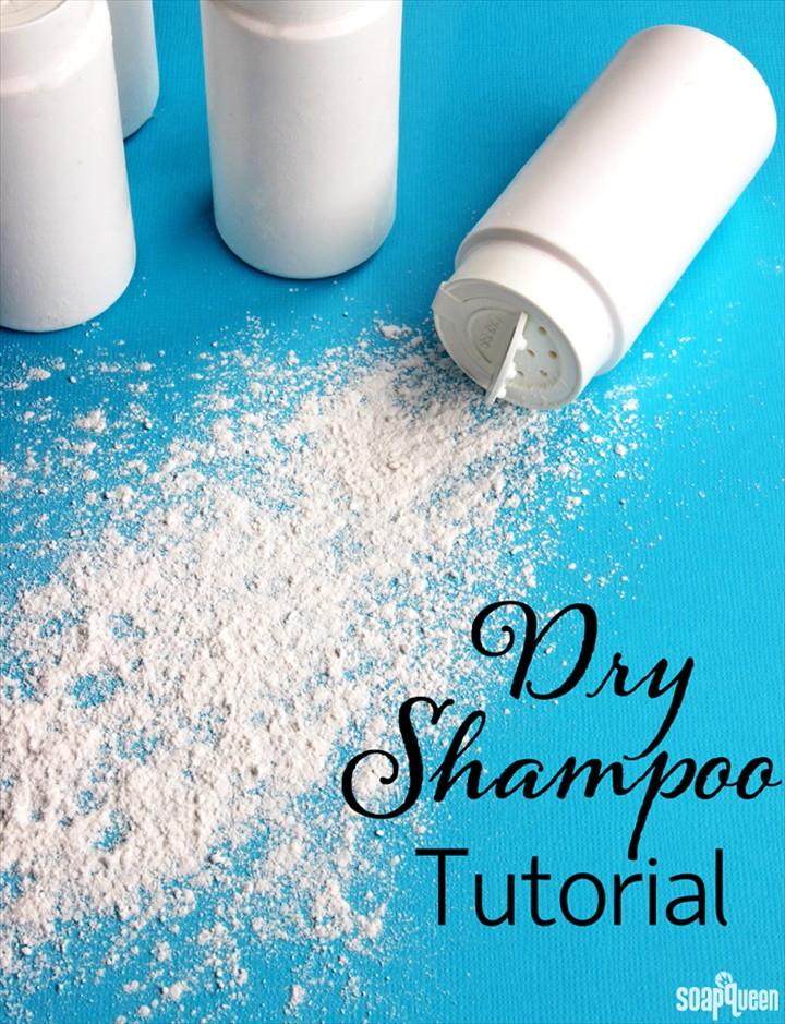 Dry Shampoo Tutorial