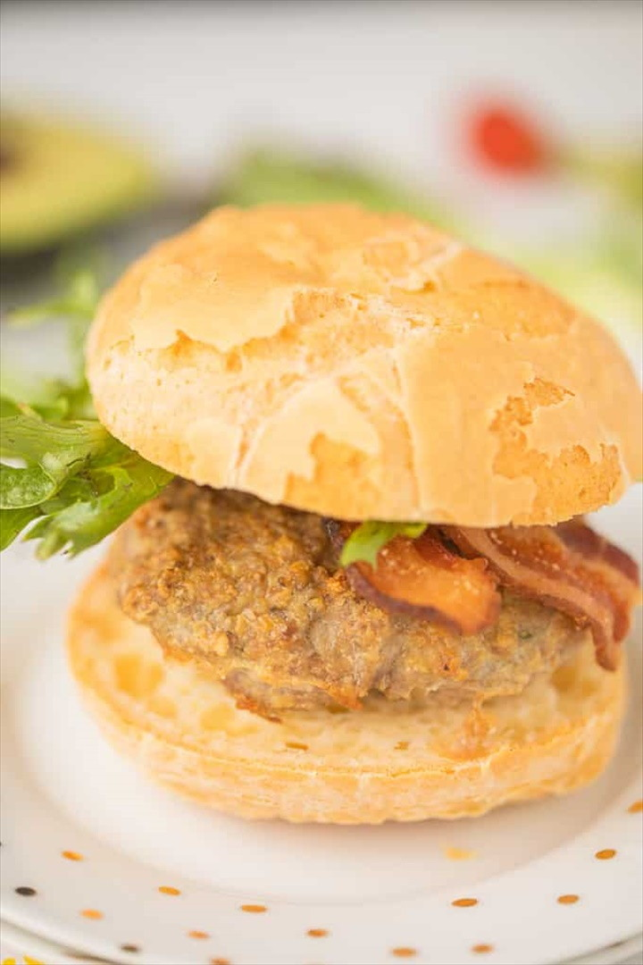 Easiest Air Fryer Turkey Burgers