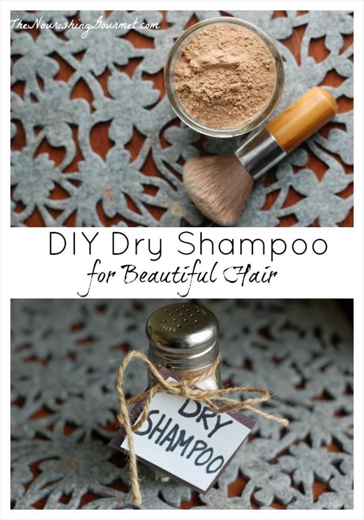 Easy DIY Dry Shampoo For Beautiful Hair