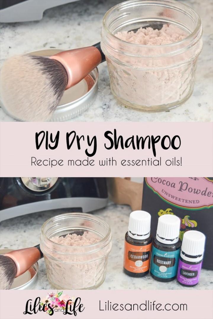Easy DIY Dry Shampoo