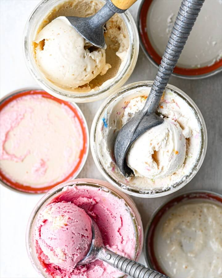 Easy Homemade 1 Pint Ice Cream