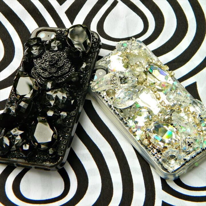Easy Jeweled Cell Phone Case