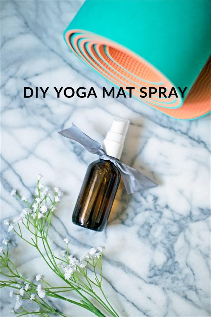 Easy Yoga Mat Spray