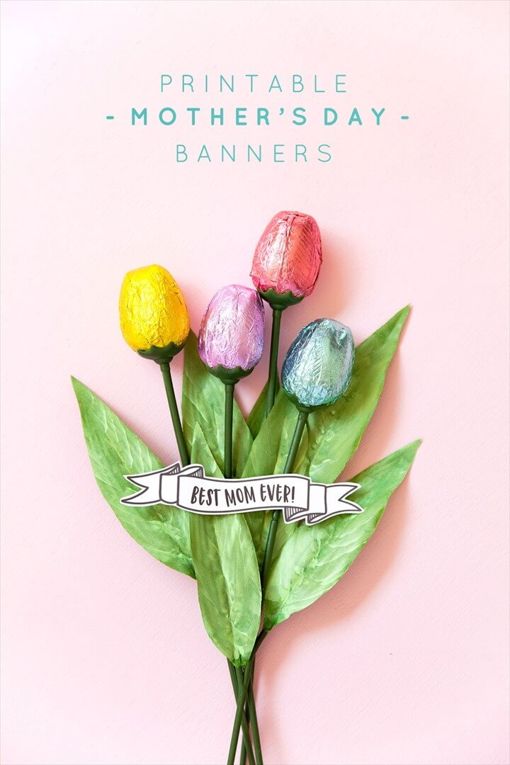 Free Printable Mother's Day Banners
