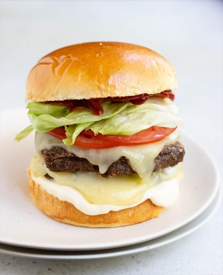 Frozen Burgers In Air Fryer