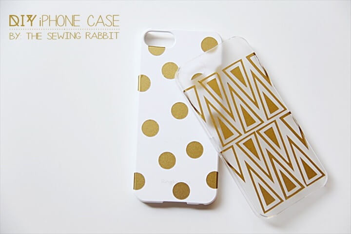 Gold Polka Dot Tribal Phone Cases