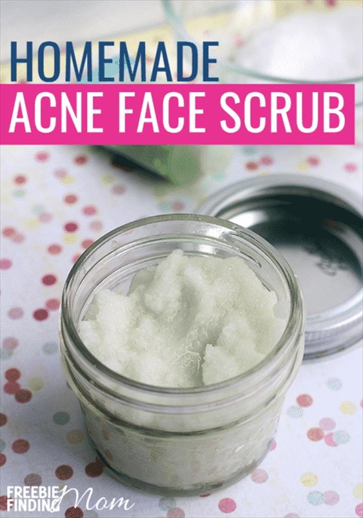 Homemade Face Scrub for Acne