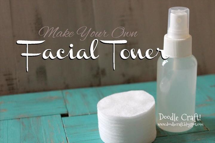 Homemade Facial Toner Pore Reducer and Brightener