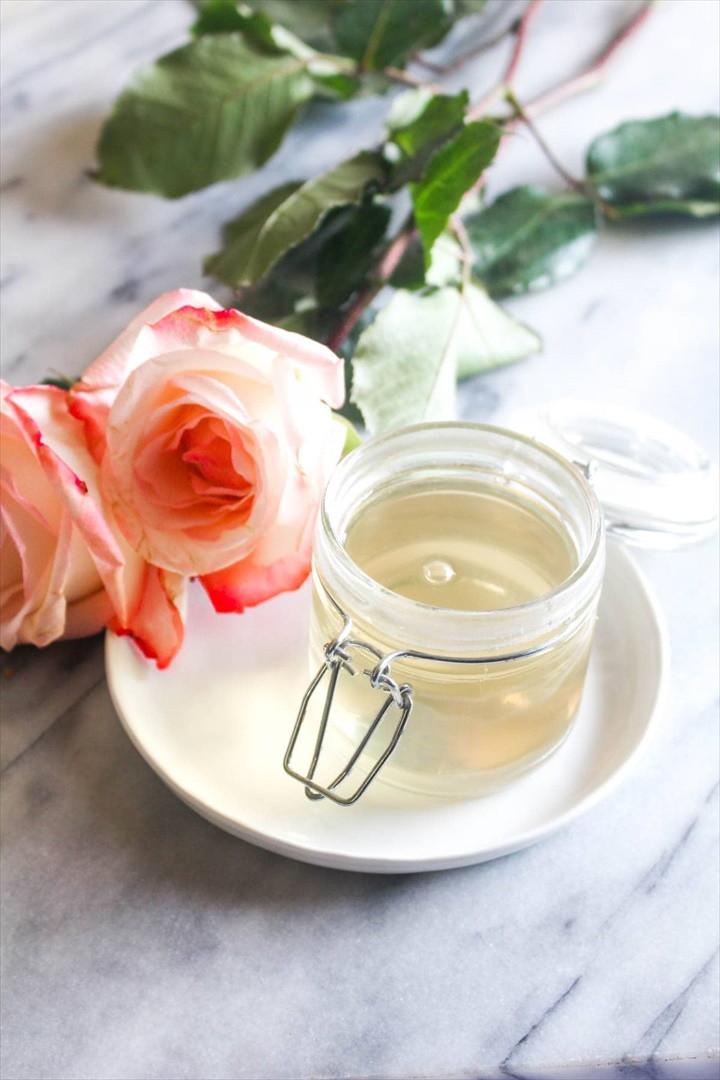 Homemade Rosewater