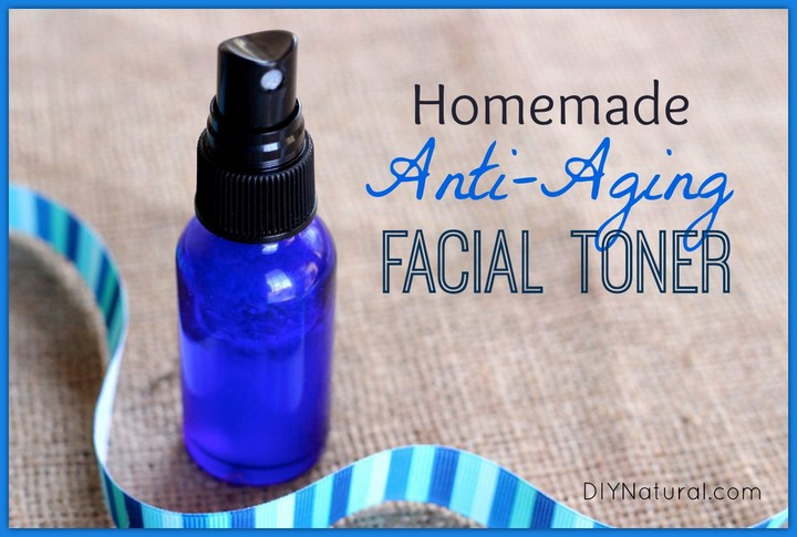 Homemade Toner Natural Anti Aging Face Toner for Beautiful Skin