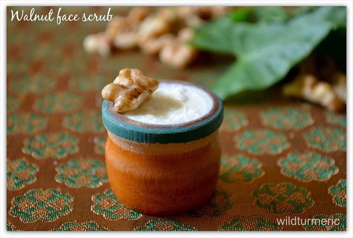 Homemade Walnut Face Scrub Recipe