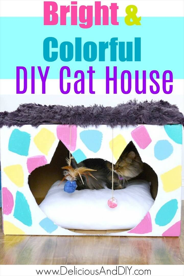 How To DIY Cat House Makeover