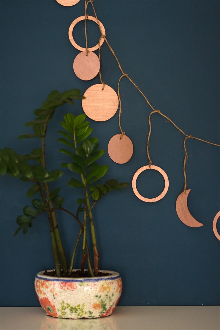 How To Make A Copper Garland With Cricut 1