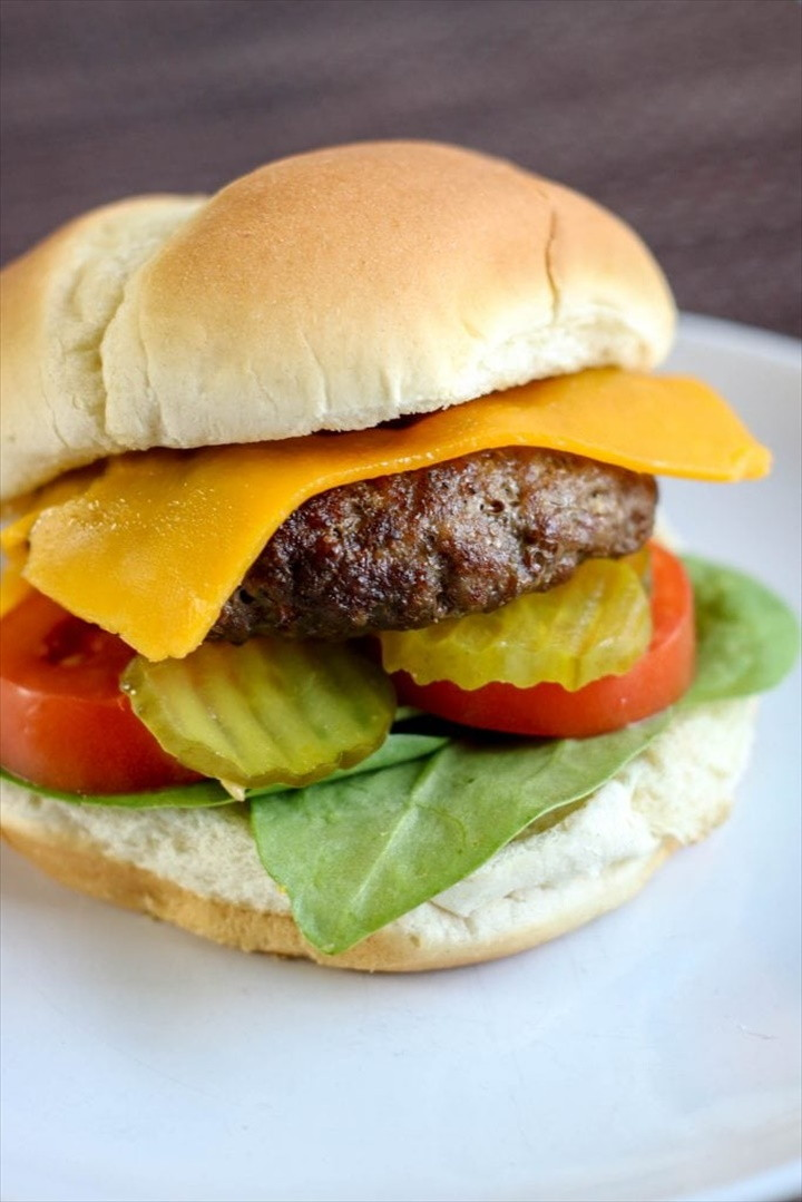 How To Make Air Fryer Hamburgers