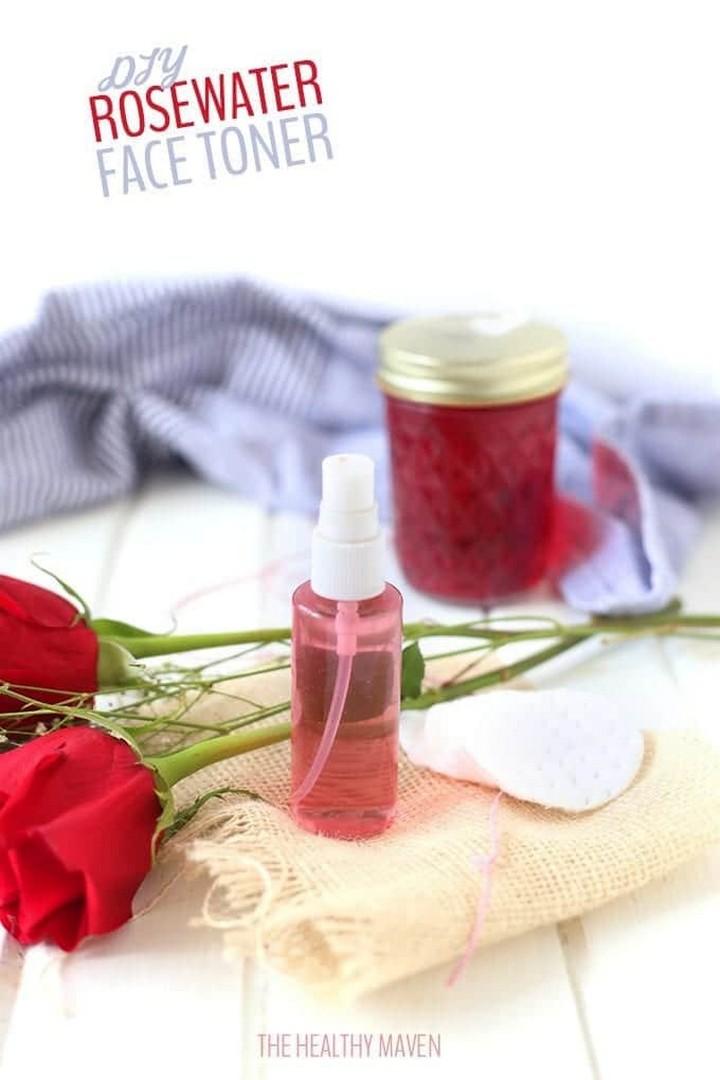 How To Make Rosewater DIY Rosewater Face Toner
