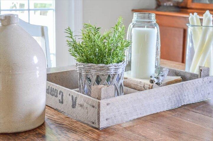 Joanna Gaines Inspired DIY Dutch Tulip Crate