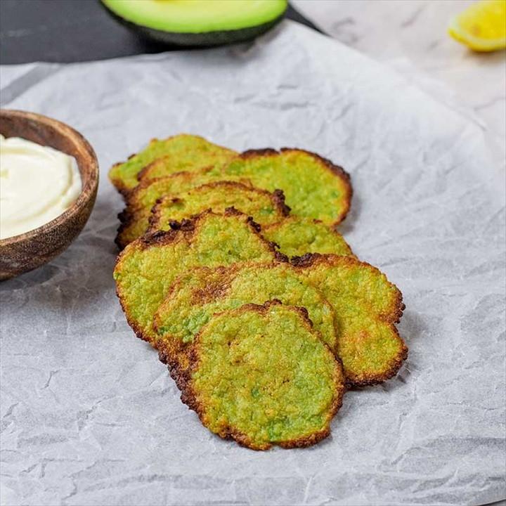 Keto Avocado Chips – Easy Egg Free Snack Recipe