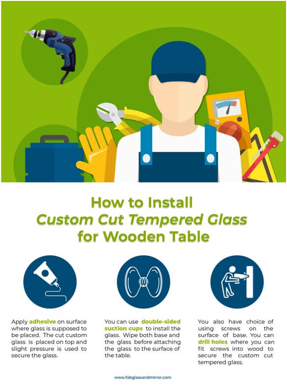 Looking to choose Custom Cut Tempered Glass for Your Table