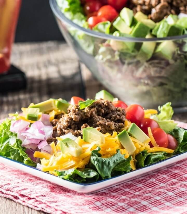 Low Carb Taco Salad