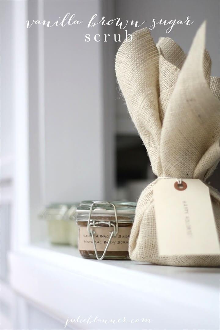 Luxurious Vanilla Brown Sugar Scrub