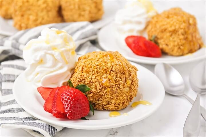 Mexican Fried Ice Cream Recipe