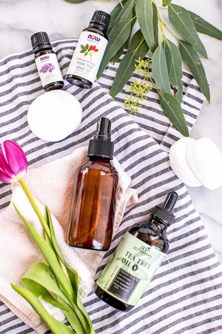 Natural 3 Ingredient DIY Face Toner