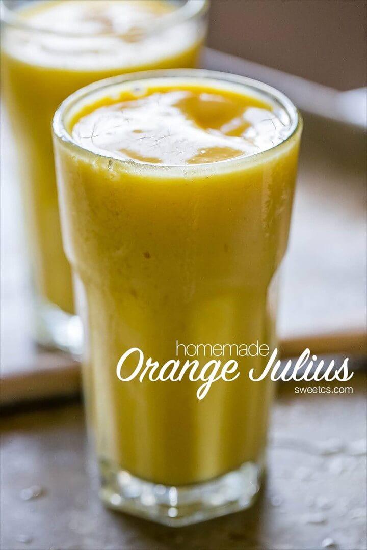 Orange Dreamsicle Rum Punch