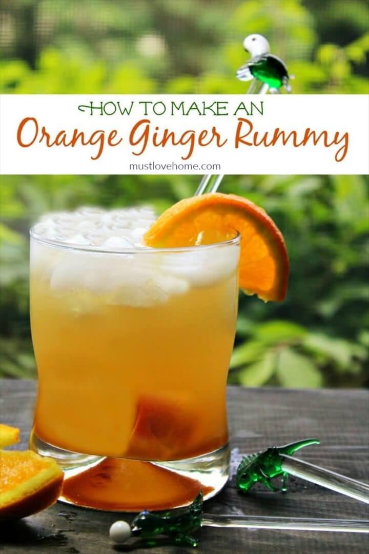 Orange Ginger Rummy