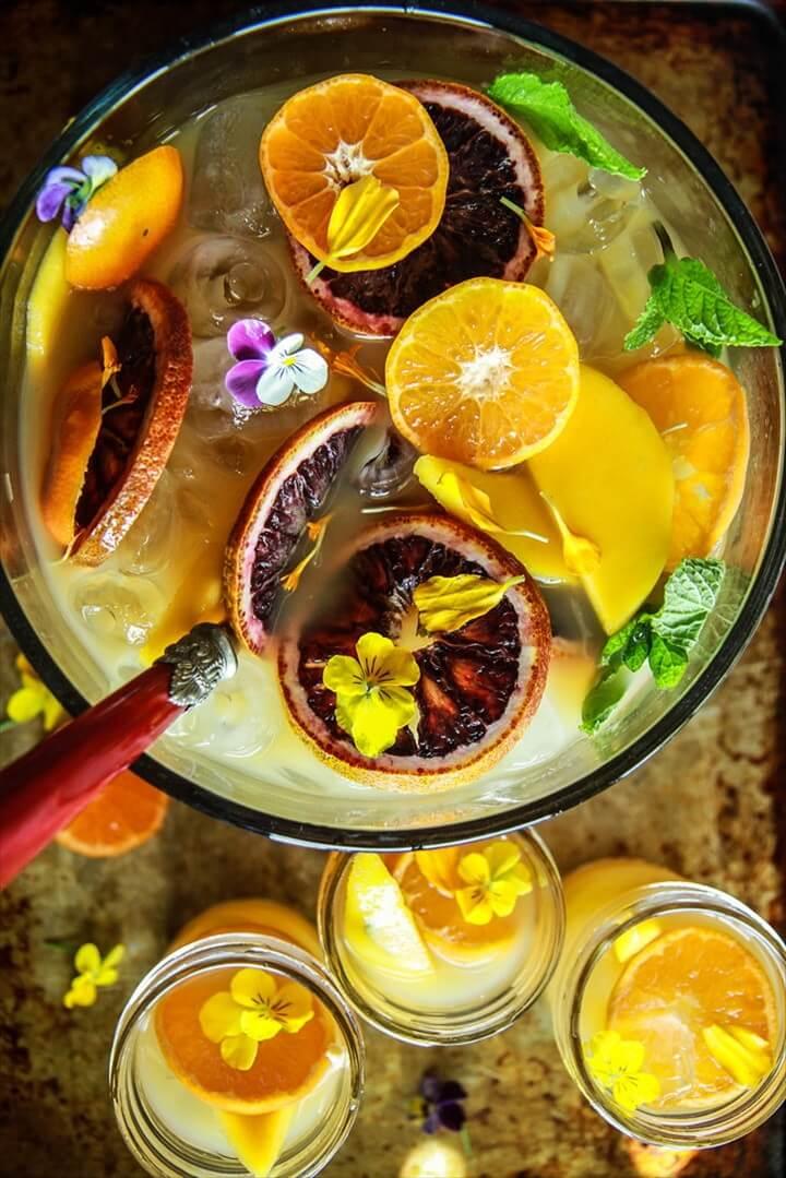 Orange Mango Rum Punch