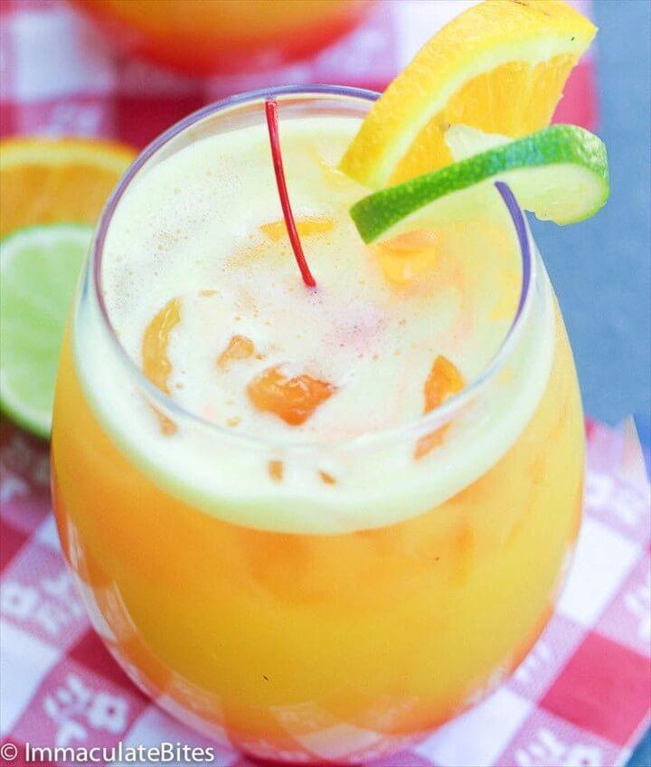 Orange Rum Punch