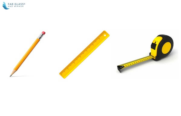 Required tools to take measurements