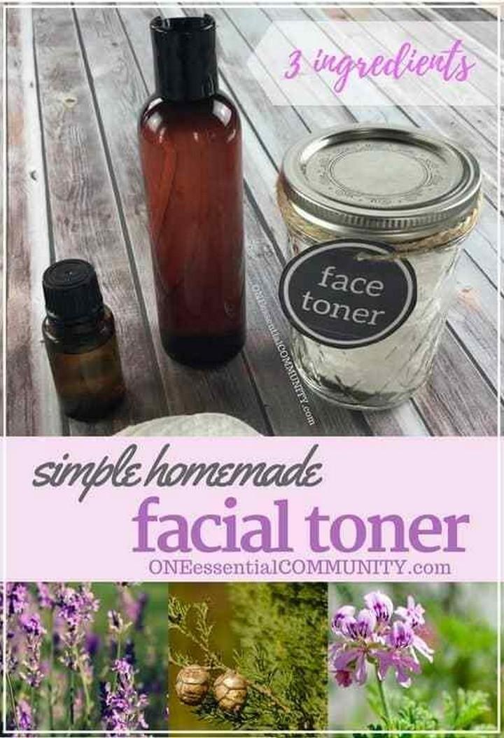 Simple DIY Facial Toner