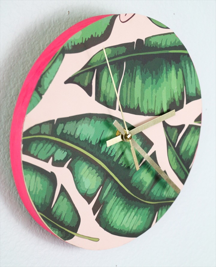 Simple Patterned Clock