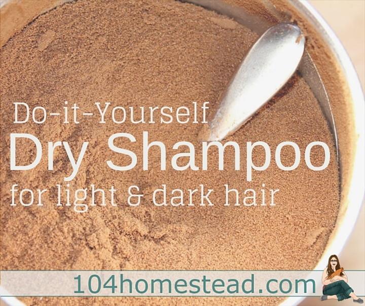 The Best DIY Dry Shampoo for Light or Dark Hair