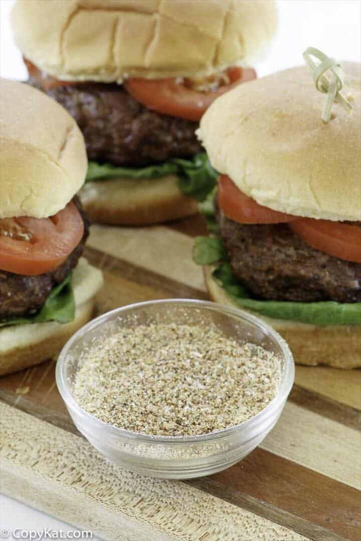 The Best Homemade Burger Seasoning