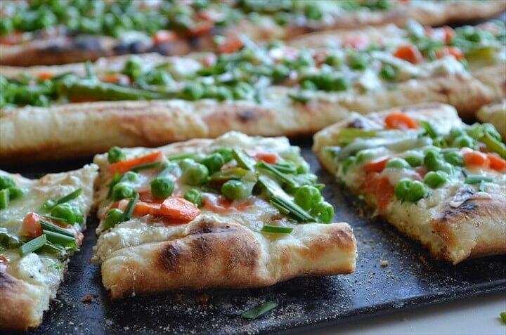 The Best Pizza Primavera