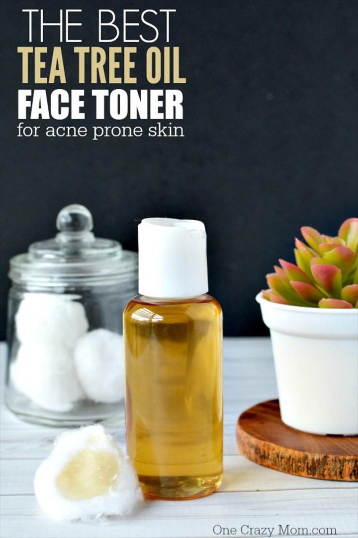 The Best Tea Tree Oil Face Toner For Acne Prone Skin