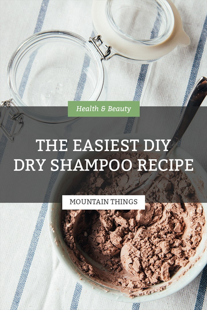 The Easiest DIY Dry Shampoo Recipe