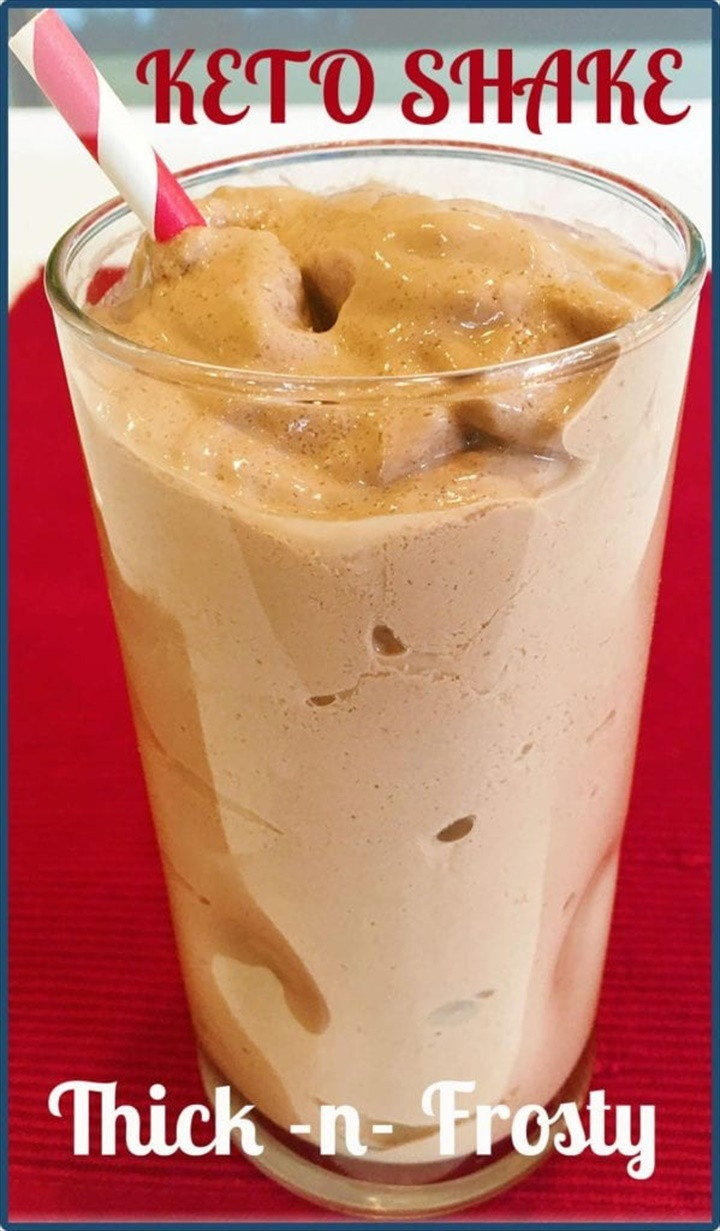 Thick and Frosty Keto Chocolate Shake