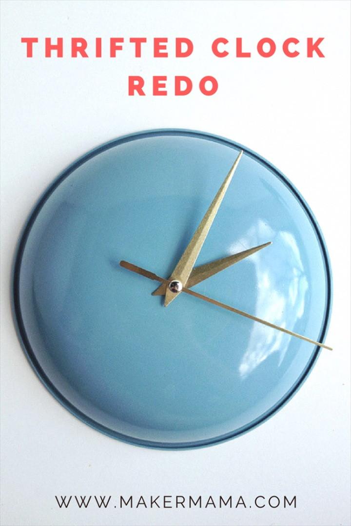 Thrifted Clock Redo