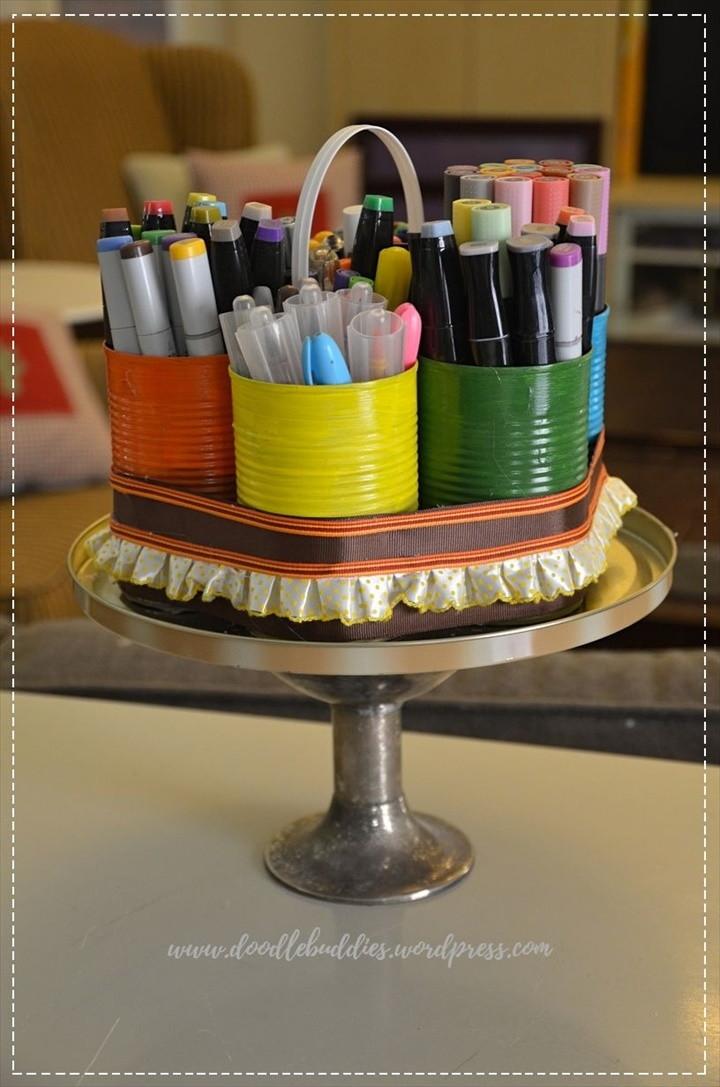 Tutorial – DIY Desk Organizer