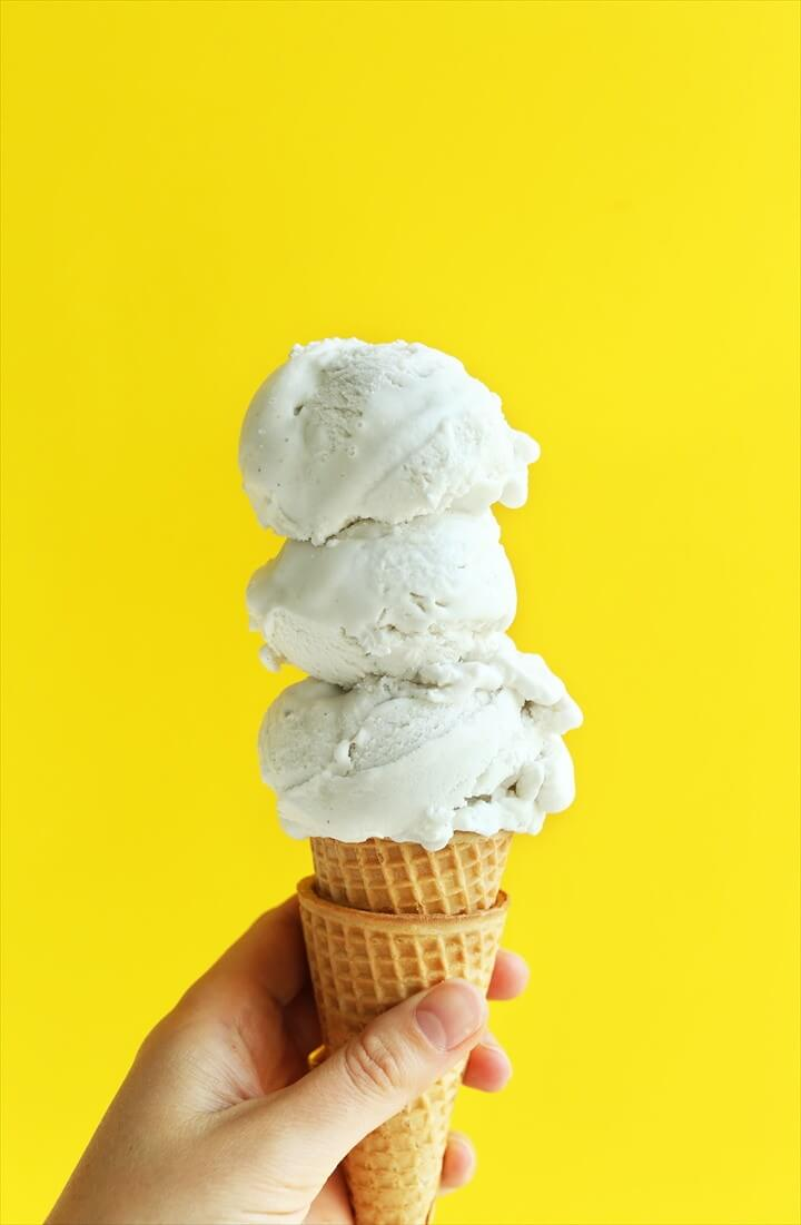 Vanilla Bean Coconut Ice Cream