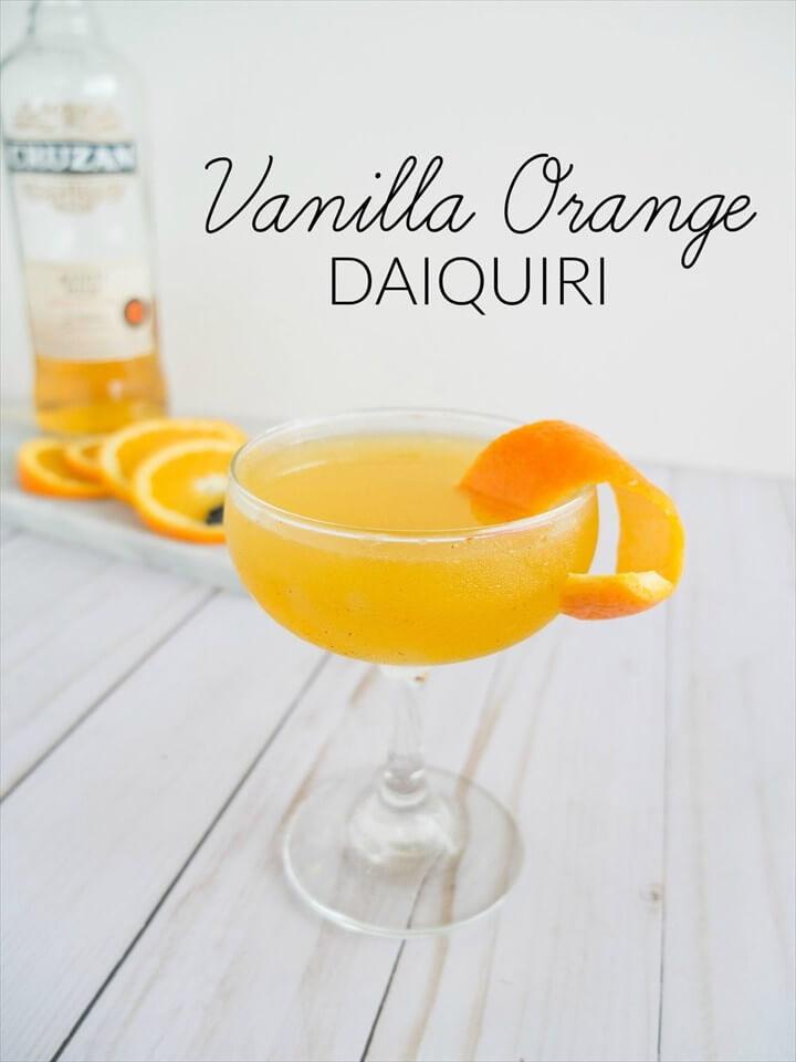 Vanilla Orange Daiquiri