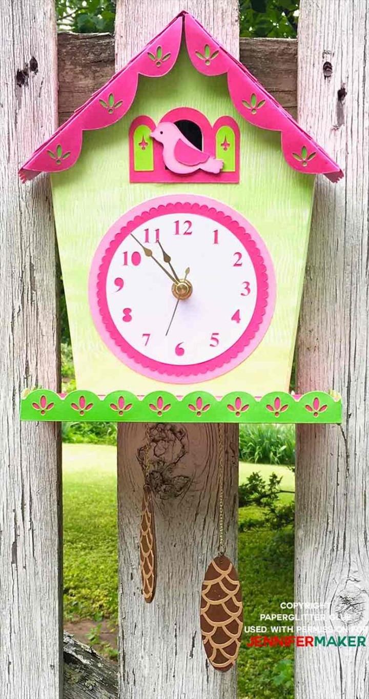 Wall Clock With A Cuckoo
